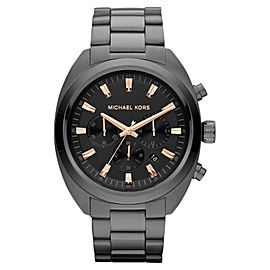 Michael Kors MK8276 Dean Chronograph Gunmetal Tone Stainless Steel Men's Watch