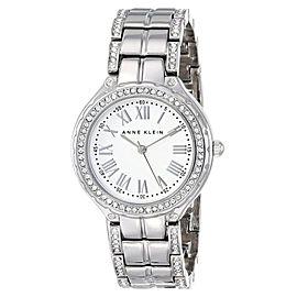 Anne Klein AK/1507SVSV Swarovski Crystal Accented Silver Tone Womens Watch