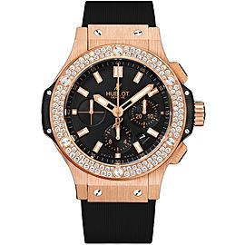 Hublot Big Bang 301.px.1180.rx.1104 18K Rose Gold & Diamonds 44mm Mens Watch