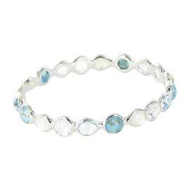 Ippolita Rock Candy Sterling Silver All Around Harmony Multi-Gemstone Bracelet