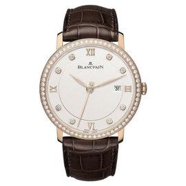 Blancpain Villeret Ultra Slim 18K Rose Gold 40mm Watch