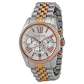 Michael Kors MK5735 Tri Tone Stainless Steel 38mm Womens Watch