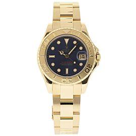 Rolex Yacht-Master 68628 18K Yellow Gold 35mm Unisex Watch