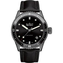 Blancpain Fifty Fathoms Bathyscaphe 5000-0130-b52a Ceramic Automatic 43mm Mens Watch