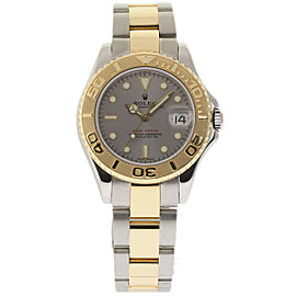 Rolex Yacht-Master 168623 Stainless Steel and Yellow Gold 35mm Womens Watch