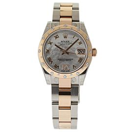 Rolex Datejust 178341 Stainless Steel & 18K Pink Gold 31mm Womens Watch