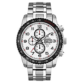 Bulova Marine Star 98C114 Stainless Steel 46mm Mens Watch