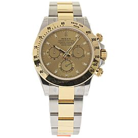 Rolex Daytona 116523 Stainless Steel and 18K Yellow Gold 40mm Men Watch