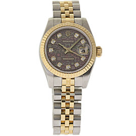 Rolex Datejust 179173 Stainless Steel / 18K Yellow Gold 26mm Womens Watch
