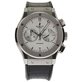 Hublot Classic Fusion 521.NX.2610.LR Titanium & Leather 45mm Mens Watch
