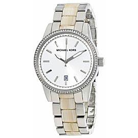 Michael Kors MK6371 Stainless Steel Silver Dial Quartz 37mm Women's Watch