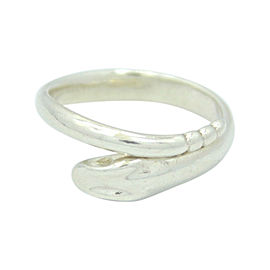 Tiffany & Co. Peretti 925 Sterling Silver Snake Ring Size 6