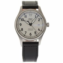 IWC Pilots IW327002 Stainless Steel & Leather Automatic 43mm Mens Watch