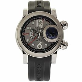 Graham Swordfish 2SWASGMT.S01A.K06B Stainless Steel 46mm Mens Watch