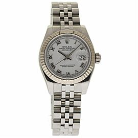 Rolex Datejust 179174 Stainless Steel/White Gold White Dial Automatic 26mm Womens Watch 2005
