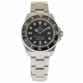 Rolex Sea-Dweller 116600 Stainless Steel & Ceramic Black Dial Automatic 40mm Mens Watch 2017