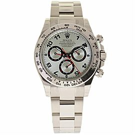 Rolex Daytona 116509 18K White Gold Silver Dial Automatic 40mm Mens Watch 2009