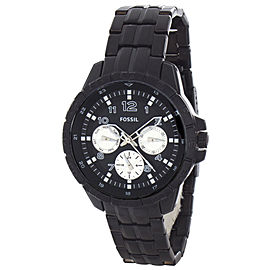 Fossil BQ9425 Black Tone Stainless Steel Mens 42mm Quartz Watch