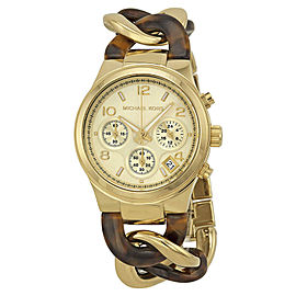 Michael Kors MK4222 Gold Tone Stainless Steel 38mm Womens Watch