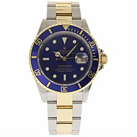 Rolex Submariner 16613 Stainless Steel and Yellow Gold Automatic 40mm Mens Watch