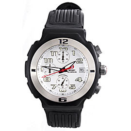 Michele 71-198-A Black Aluminum White Dial 40mm Unisex Watch