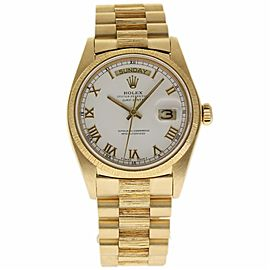 Rolex Day-Date 18078 Yellow Gold Vintage 36mm Mens Watch