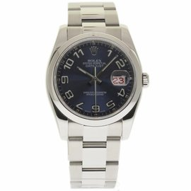 Rolex Datejust 116200 Stainless Steel Blue Dial Automatic 36mm Unisex Watch