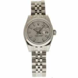 Rolex Datejust 179160 Stainless Steel Automatic 26mm Womens Watch