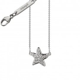 Monica Rich Kosann Triumph 18K White Gold & Diamond Critter Starfish Charm Necklace
