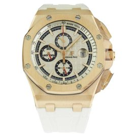 Audemars Piguet Royal Oak Offshore 26408OR.OO.A010CA.01 Rose Gold Automatic 44mm Mens Watch