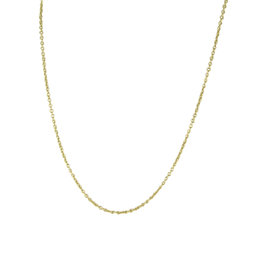 Tous 925 Sterling Silver & 18K Yellow Gold Chain Necklace