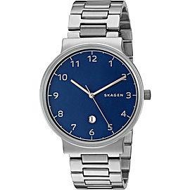 Skagen SKW6295 Stainless Steel Ancher Blue Dial 40mm Men's Watch