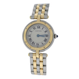 Cartier Panthere Vendome 1057920 Stainless Steel & 18K Yellow Gold Quartz 24mm Womens Watch
