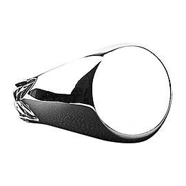 David Yurman 925 Sterling Silver Chevron Signet Ring Size 11