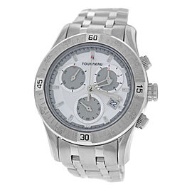 Tourneau Corporate Collection Stainless Steel Quartz 42mm Mens Watch
