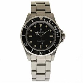 Rolex Submariner 14060 Stainless Steel 40mm Automatic 40mm Mens Watch