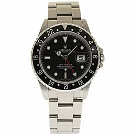 Rolex GMT Master 16700 Stainless Steel Automatic 40mm Mens Watch