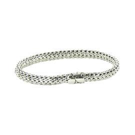 John Hardy Classic 925 Sterling Silver Kali Clasp Chain Bracelet
