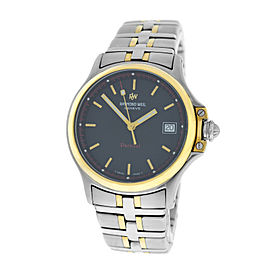 Raymond Weil Parsifal 9090 Stainless Steel 18K Yellow Gold Electroplated Quartz 36mm Womens Watch