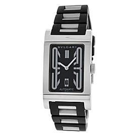 Bulgari Rettangolo RT45S Stainless Steel Automatic 26mm Unisex Watch