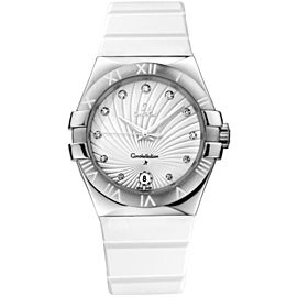 Omega Constellation 123.12.35.60.52.001 Stainless Steel Quartz 35mm Womens Watch