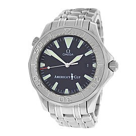 Omega Seamaster 2533.50.00 Limited Edition Stainless Steel and 18K White Gold Automatic 42mm Mens Watch
