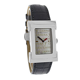 Carrera Y Carrera Tempus Fugyt DC0041012005 Stainless Steel with Mother of Pearl Dial Quartz 22mm Womens Watch