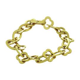 Van Cleef & Arpels Byzantine Alhambra 18K Yellow Gold Bracelet