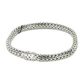 John Hardy Classic Chain 925 Sterling Silver Braided Bracelet