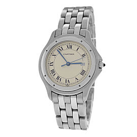 Cartier Panthere Cougar 120 000 R Stainless Steel Quartz 33mm Unisex Watch