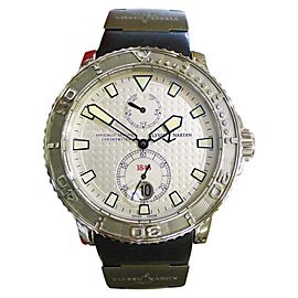 Ulysse Nardin Marine 263-33-3 Stainless Steel & Rubber Automatic 42mm Mens Watch