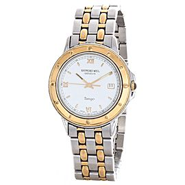 Raymond Weil Tango 5560 Two-Tone Stainless Steel 38mm Mens Watch