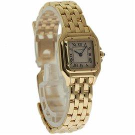 Cartier Panthere W25022B9 18K Yellow Gold Quartz 22mm Womens Watch