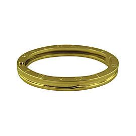 Bulgari B-Zero1 18K Yellow Gold Bangle Bracelet